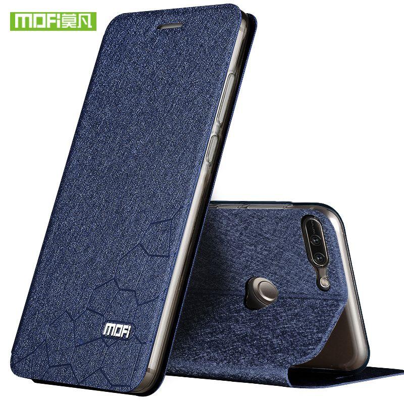 Pour Huawei honor 9 lite silicon cover case Huawei honor 9 lite cas de luxe flip en cuir portefeuille 9 Lite transparent tpu coques 5.65