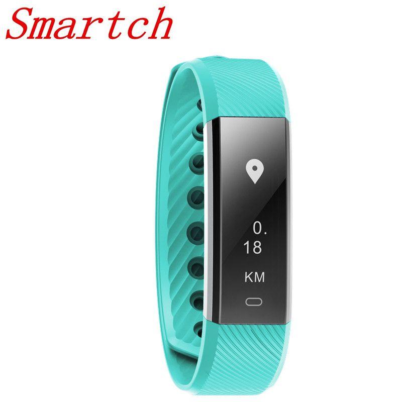 Smartch Neue Mode Sport Smart Armband Fitness SportsIntelligence Mit Schritt Herzfrequenzmessung Wasserdichte Intelligente Armband