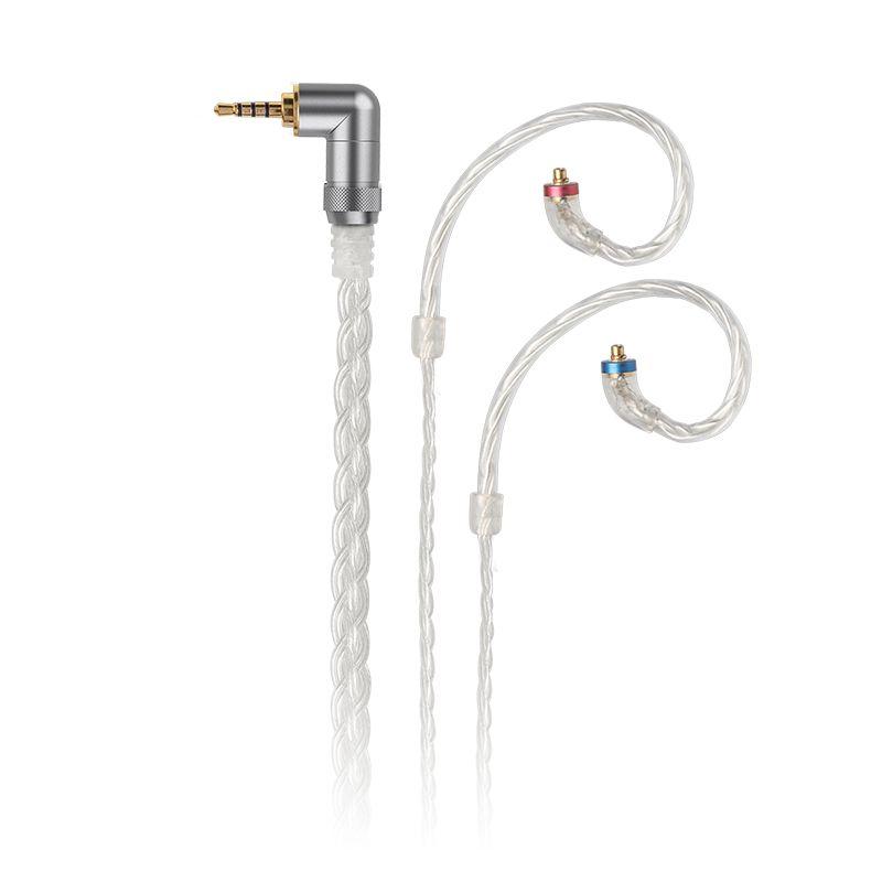 FiiO LC-2.5C/3.5C/4.4C Hand-Woven MMCX Ausgewogene kopfhörer ersatz kabel für Shure/JVC/FiiO