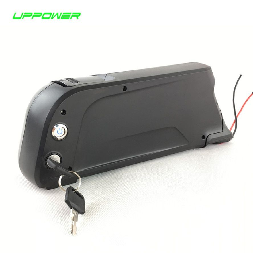 EU US Free Tax 48V 8Ah Ebike dolphin style lithium ion battery for Electric Bike 48V 750W power motor