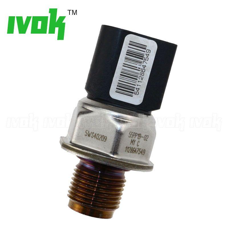 5WS40209 55PP19-02 Original Fuel Rail Pressure Sensor Drucksensor For Land Rover LR3 LR4 2.7 Diesel Thread M18X1.5