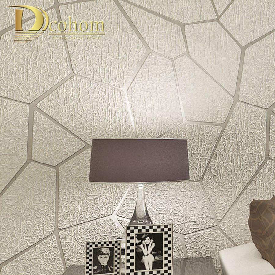 Толстые стекались Современная Геометрия полосатый стены Бумага для стен гостиной диван ТВ Задний план декор дома 3D стены Бумага рулонов