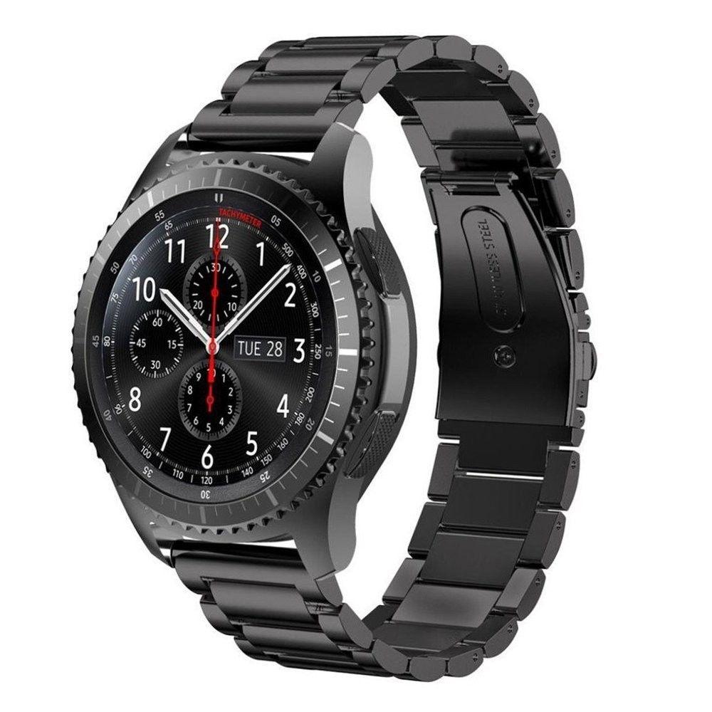 FOHUAS inoxydable acier au Bracelet pour Samsung vitesse s3 poignet Montre Smart Watch Band Bracelet Lien Bracelet Liens Bracelet pour iWatch