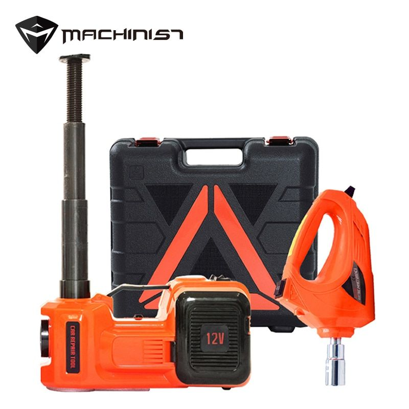 Vehicle-mounted 5Ton 3 in 1 Car 12V Electric Jack liftting Hydraulic Pressure Power-driven Jack Floor Jack Auto maintenance tool