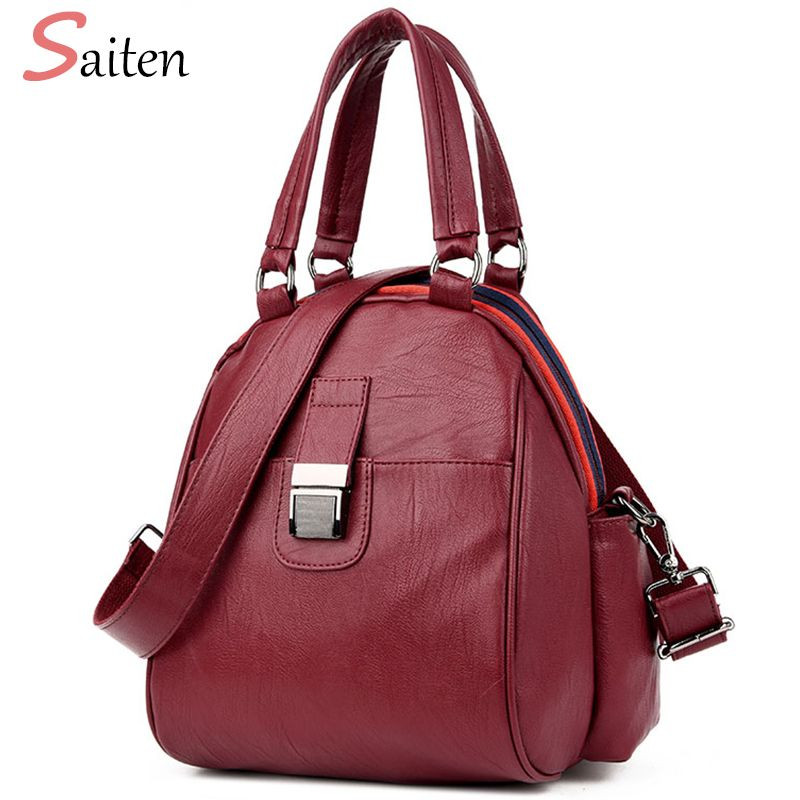Leather PU Bags Backpacks For Teenage Girls Fashion Backpack Women Bag Famous Brand School Bags New Arrival 2017 bolsa mochila