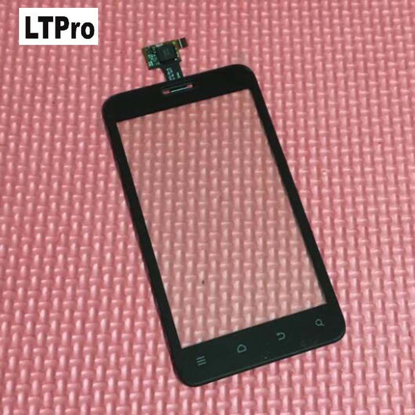 LTPro High Quality Tested Working Front Panel Touch Screen Digitizer For ZTE V889D N880E V889S Blade C Mobile Sensor Replacement