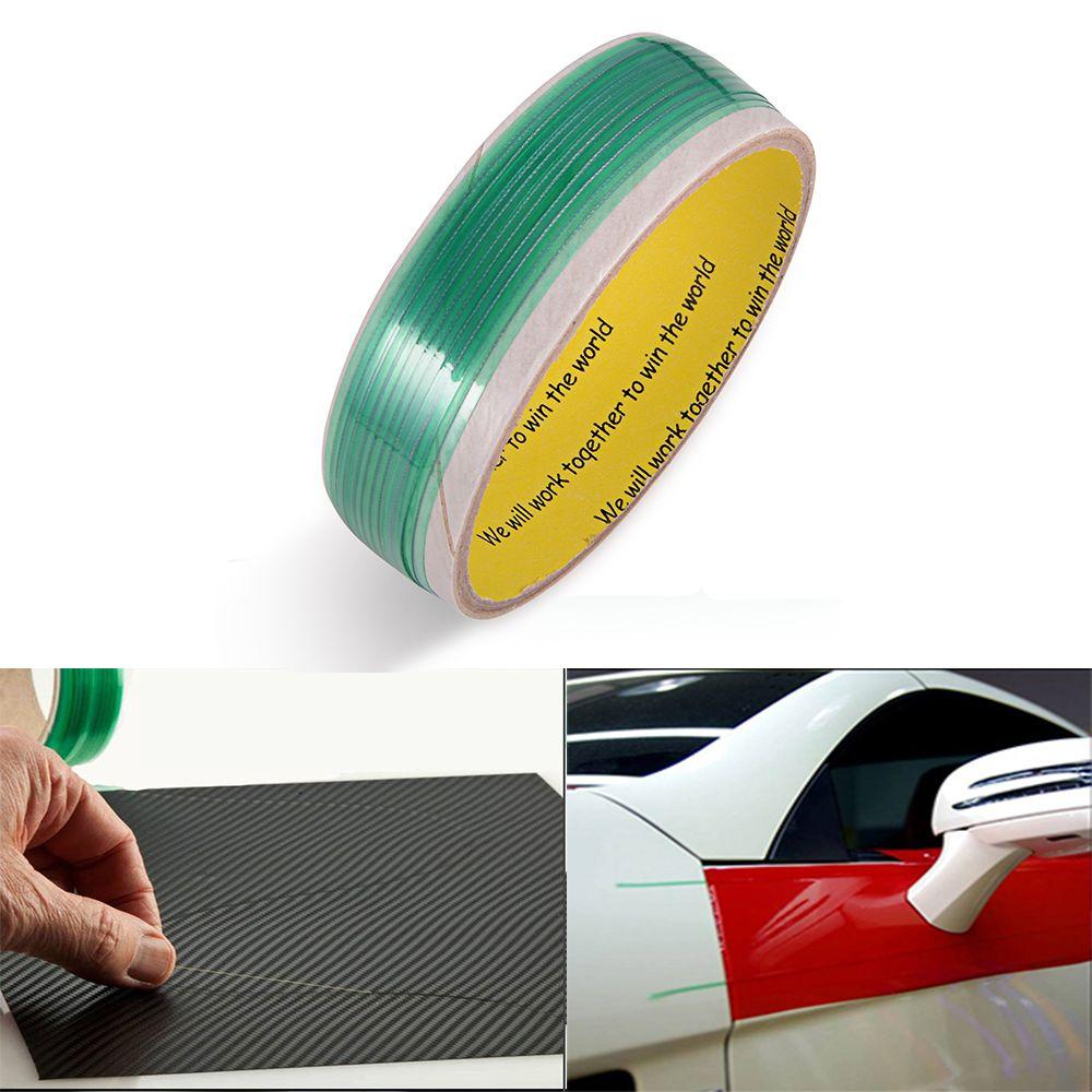 EHDIS 500 cm autocollant en vinyle Sans Couteaux Bande Conception Ligne Papier Peint Feuille Film Bricolage De Coupe Bande De Voiture Wrap Outil Moto accessoires de voiture