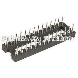 Припоя Тип Dual Row 28 вывод pcb плата погружения IC гнездо адаптера переменного тока на узкую ногу