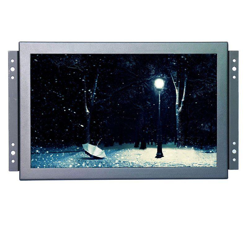 1920*1200 hohe auflösung 10,1 zoll 10 punkte berühren kapazitiver touch monitor open frame lcd monitorhalterung mit BNC/VGA/HDMI
