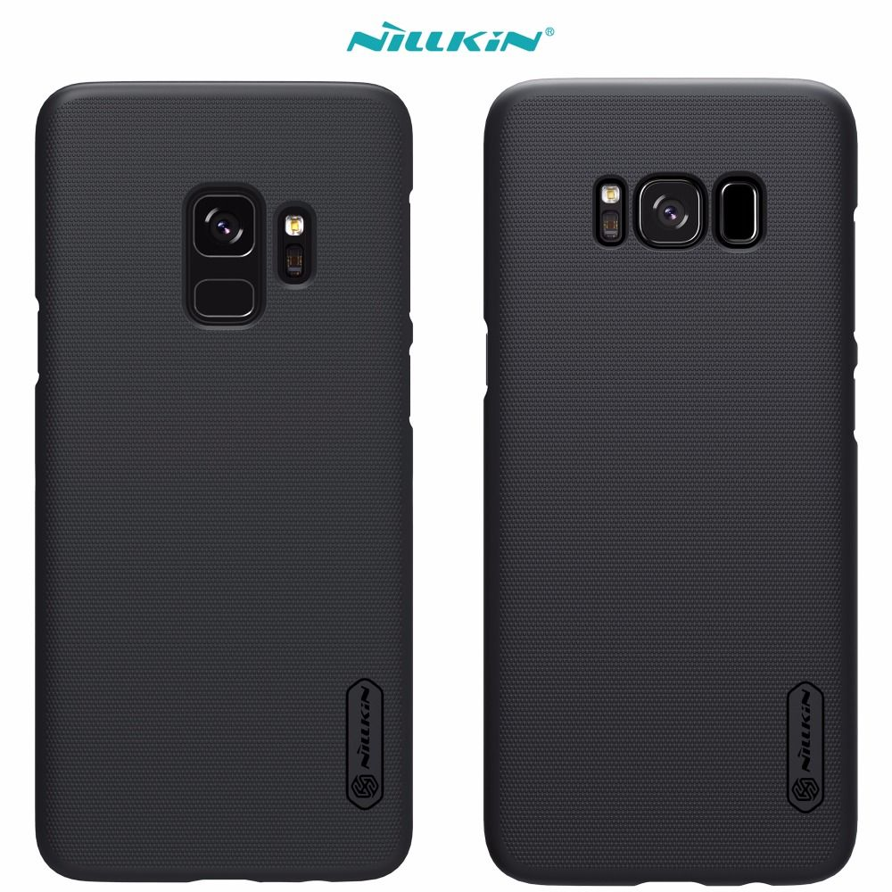 Case For Samsung Galaxy S9 S8 Plus s4 NILLKIN Super Frosted Shield back cover For Samsung Galaxy S9 Retail package