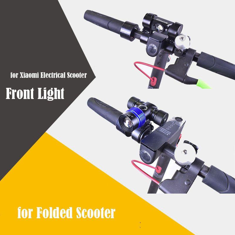 De vista claro para Xiaomi Xiaomi Mijia M365 Scooter Eléctrico luz de la noche para Scooter Eléctrico M365 Patín Eléctrico