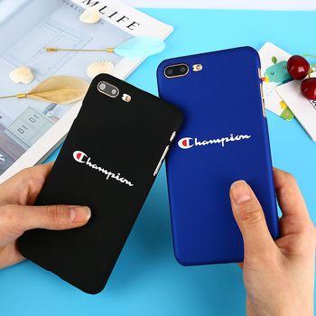 Marque de mode Marée Téléphone cas pour iPhone 7 En Plastique Dur Coque pour iPhone 8 7 6 6 S Plus Ultra Mince Mat PC fundas pour iphone X