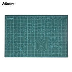 Aibecy A3 коврик для резки ПВХ инструменты для пэчворка ручной DIY инструмент разделочная доска двухсторонняя самовосhealing вающая режущая площад...