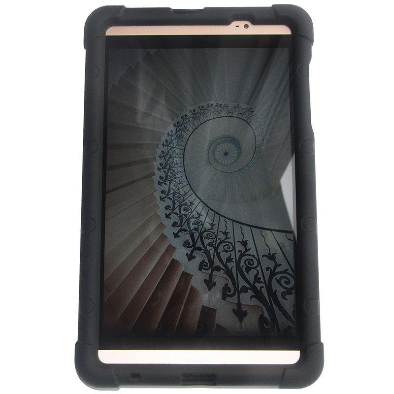 MingShore Pour Huawei MediaPad M2 8.0 801l Silicone Main Cover Band Case Pour Huawei M2 8.0 pouce M2-801w 803l Robuste tablet Cas