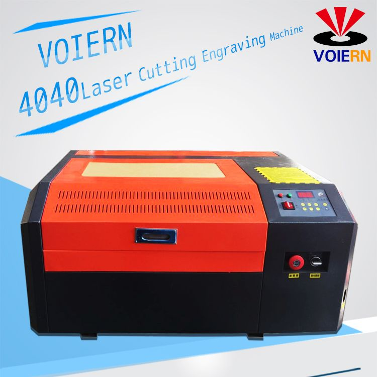 Free shipping to Moscow!WR4040 50W Co2 4040 laser engraving machine cutter machine laser engraver, DIY laser marking machine,