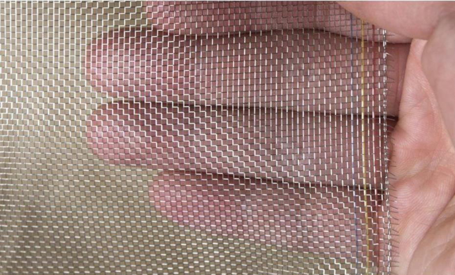 Style plus épais pas cher, robuste, fil de métal filte net, 304 écrans de fil d'acier inoxydable, anti-moustique, soleil, maille de protection contre le feu