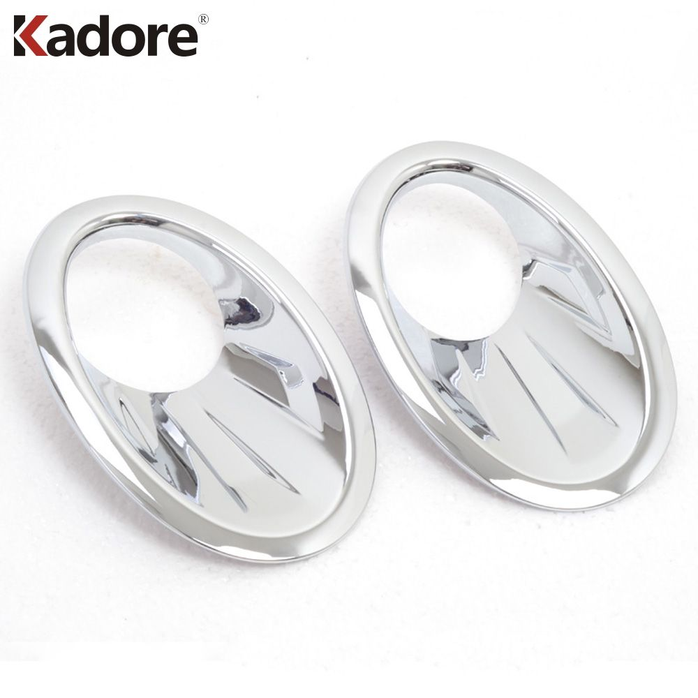 For Nissan Qashqai And Qashqai+2 2010-2013 ABS Chrome Front Foglight Fog Light Cover Head Foglights Trims Exterior Accessories