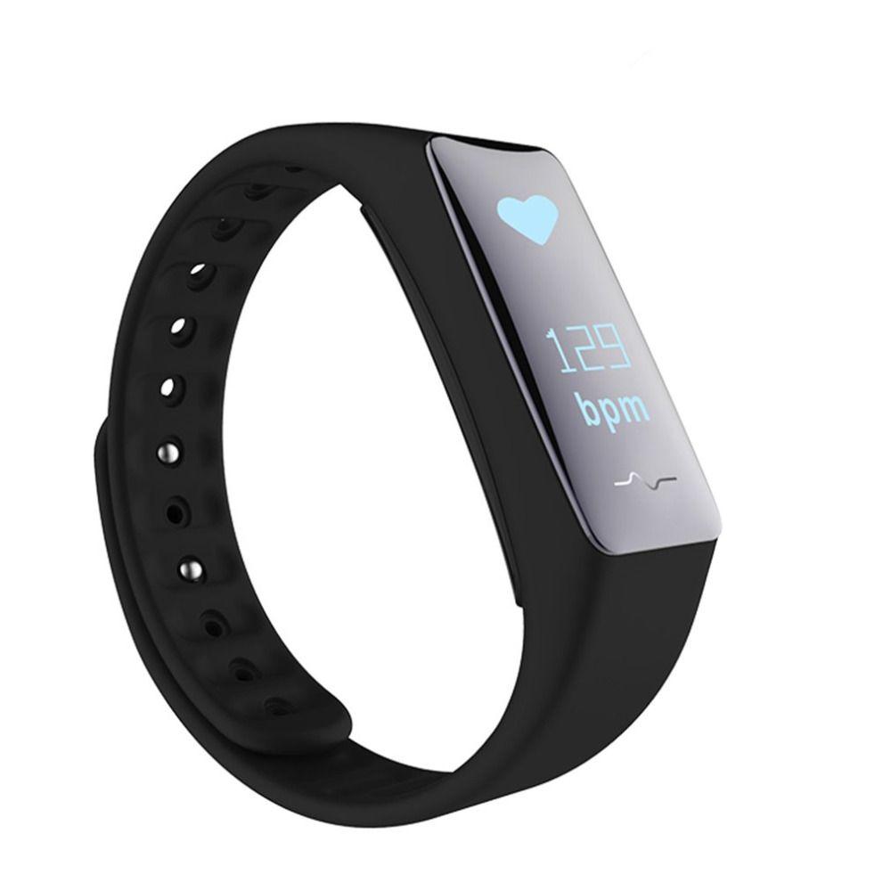 M3S Bluetooth Умные браслеты NFC сердечного ритма и Приборы для измерения артериального давления мониторинга с OLED Сенсорный экран Фитнес трекер Бр...