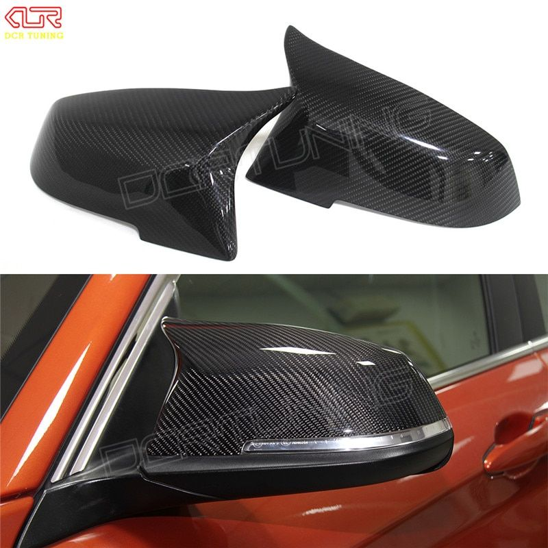 For BMW F30 F32 F33 F20 F22 F23 F36 X1 Mirror M3 M4 Look Rear View Mirror Cover For F20 F30 F22 F36 F23 F87 M2 carbon mirror