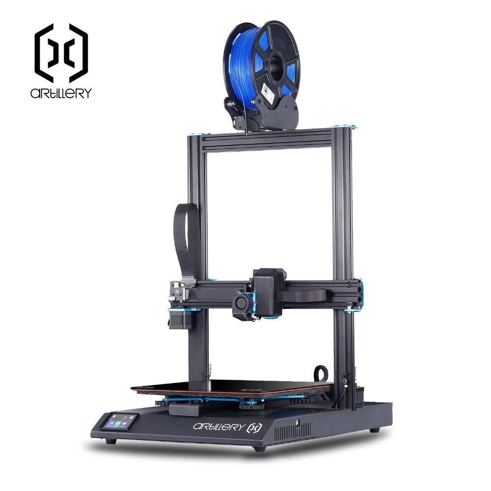 Artillerie sidewinder x1 3D Drucker SW-X1 Desktop ebene imprimante 3d pro 300*300*400mm größe Unterstützung USB und TF karte Touch-screen
