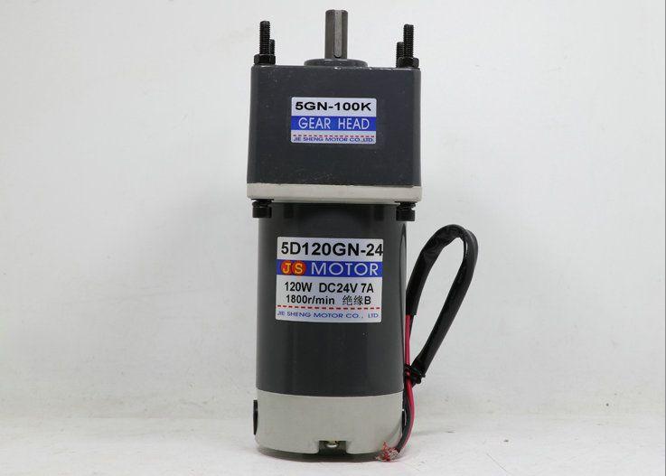 DC12V/24 v 120 watt 5D120GN permanent magnet getriebe motor mit einstellbare geschwindigkeit Geeignet für mechanische ausrüstung, power werkzeuge, DIY, etc.