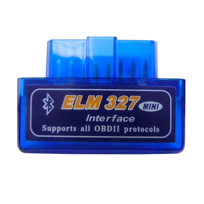 Super Mini Elm327 Bluetooth OBD2 V1.5 Elm 327 V 1.5 OBD 2 voiture outil de Diagnostic Scanner orme-327 OBDII adaptateur outil de Diagnostic automatique