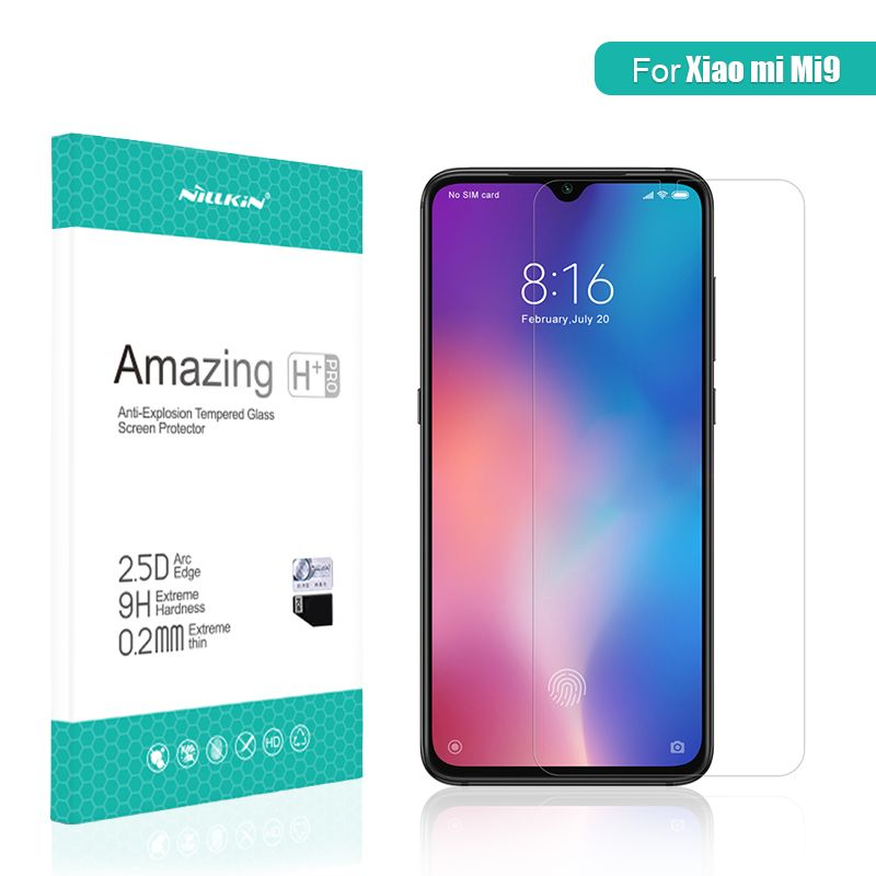For xiaomi mi 9 glass Screen Protector 6.39 NILLKIN Amazing H/H+PRO CP+ XD 9H mi9 Tempered Glass Protector mi 9 for xiaomi glass