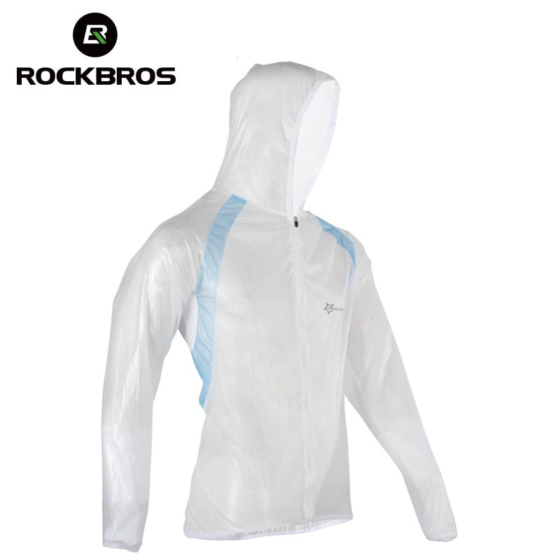 ROCKBROS Mountain Bicycle Bike Cycling Raincoat Breathable Compressed Windshield Waterproof Raincoat <font><b>Outdoor</b></font> Clothes 3 Colors