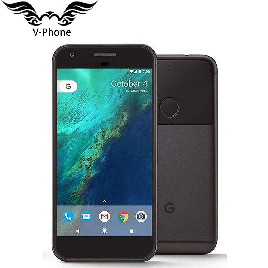 Original US Version Google Pixel XL 4GB RAM 32GB 128GB ROM 4G LTE Android Mobile phone 5.5'' Snapdragon Quad Core Fingerprint