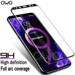 9 H En Verre Trempé Pour Samsung Galaxy s8 plus verre note 8 S9 écran Protecteur Film Pour Samsung s6 s7 bord Pleine Couverture En Verre Film
