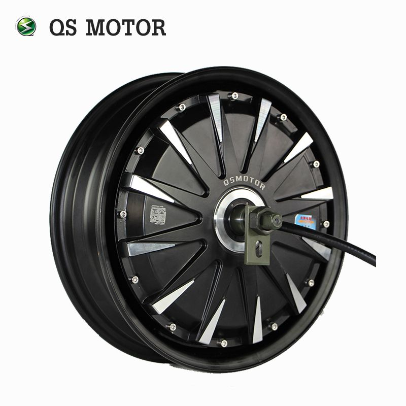 QS Motor 12inch 260 3000W 40H V3 Electric Motorcycle Conversion Kit