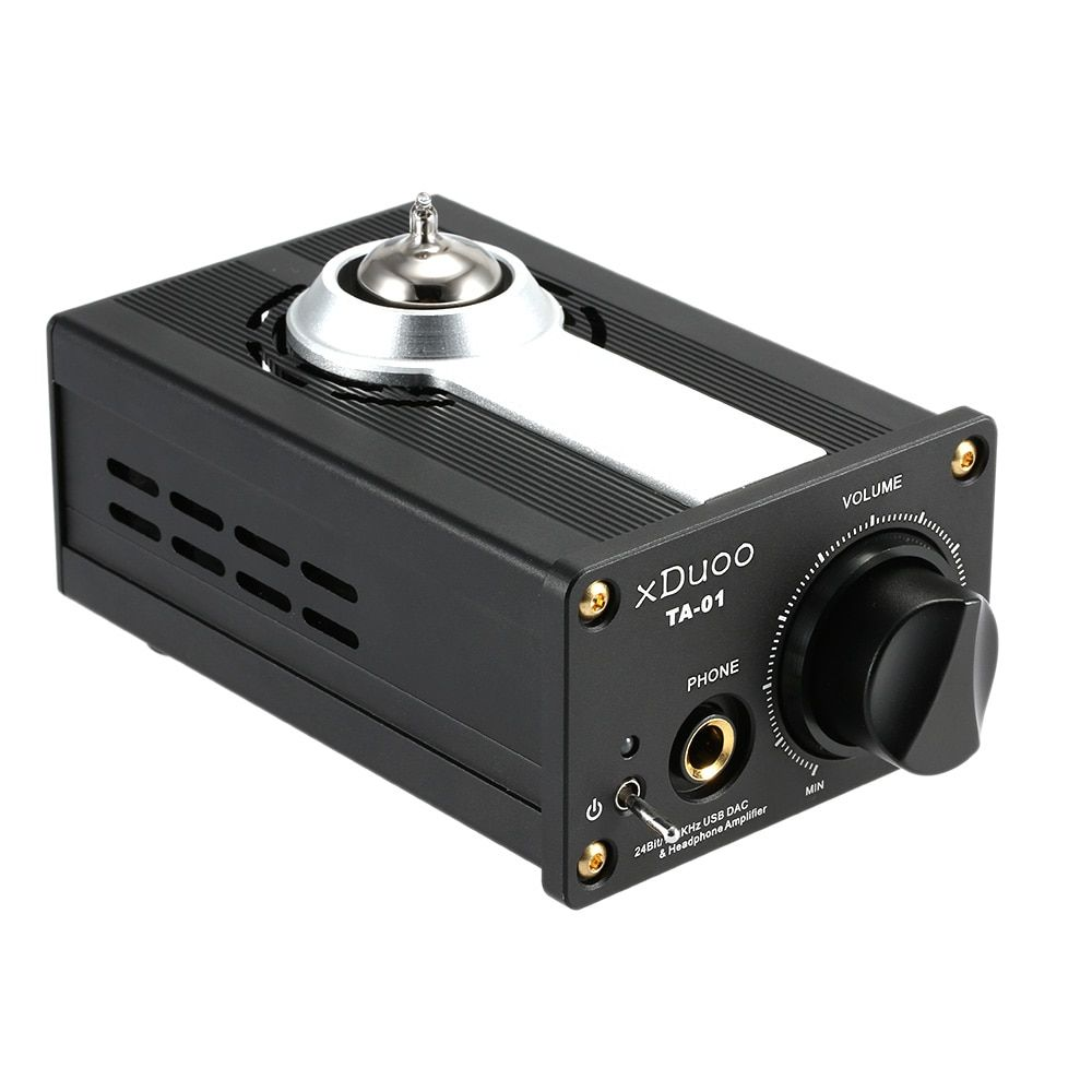 AK Original XDUOO TA-01 Hifi 24bit/192KHz USB DAC + Tube Headphone Amplifier Tube Power Amplifier Class A Buffer Amp
