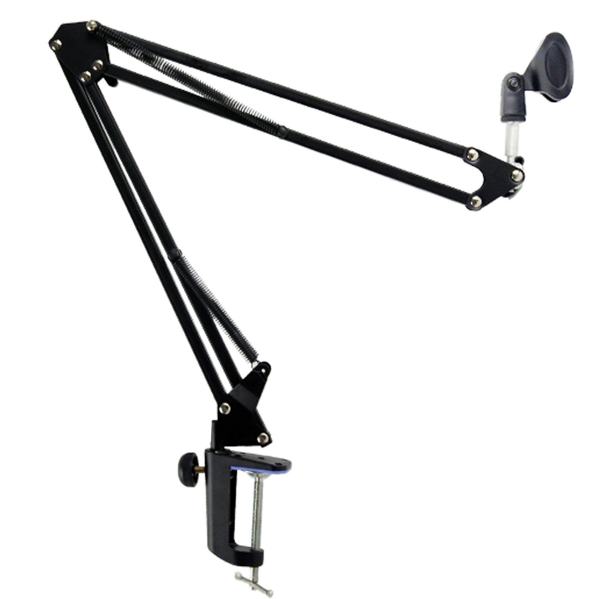 CES-Broadcast Studio Microphone Mic Suspension Boom Scissor Arm Stand