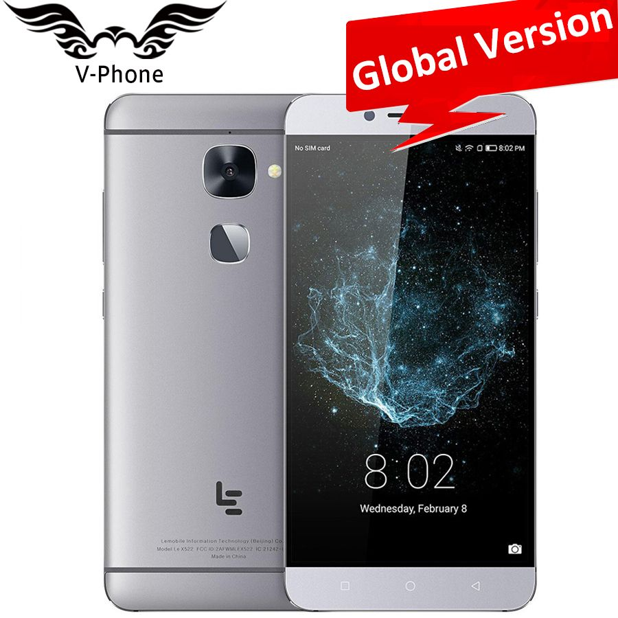 Global Version Letv LeEco Le X522 MSM8976 Octa Core 3GB RAM 32GB ROM Android 6.0 5.5