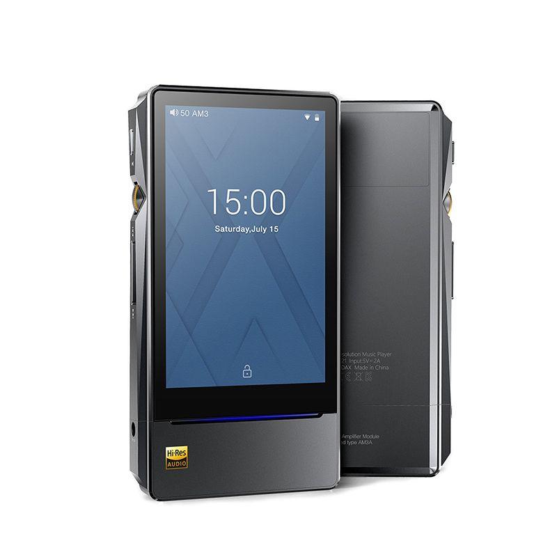 FiiO X7II X7 MarKII Android-basierte Auflösung Audio Verlustfreie Wiedergabe Tragbare Musik-Player Balacned Modul AM3A ES9028PRO