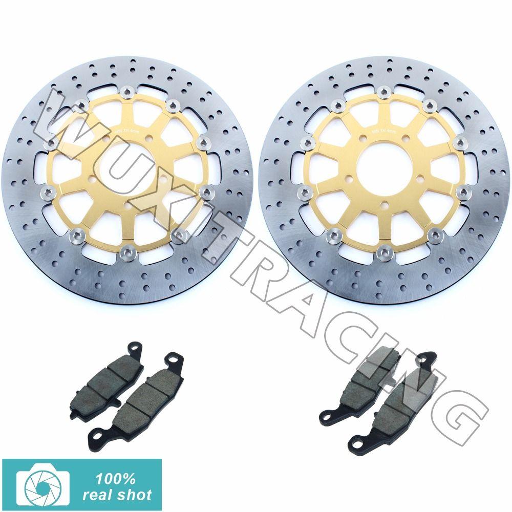Bremsscheiben vorne Rotoren + Bremsbeläge für SUZUKI DL650 DL1000 DL 650 1000 V STROM 2002 2003 2004 2005 2006 2007 2008 2009 02-09