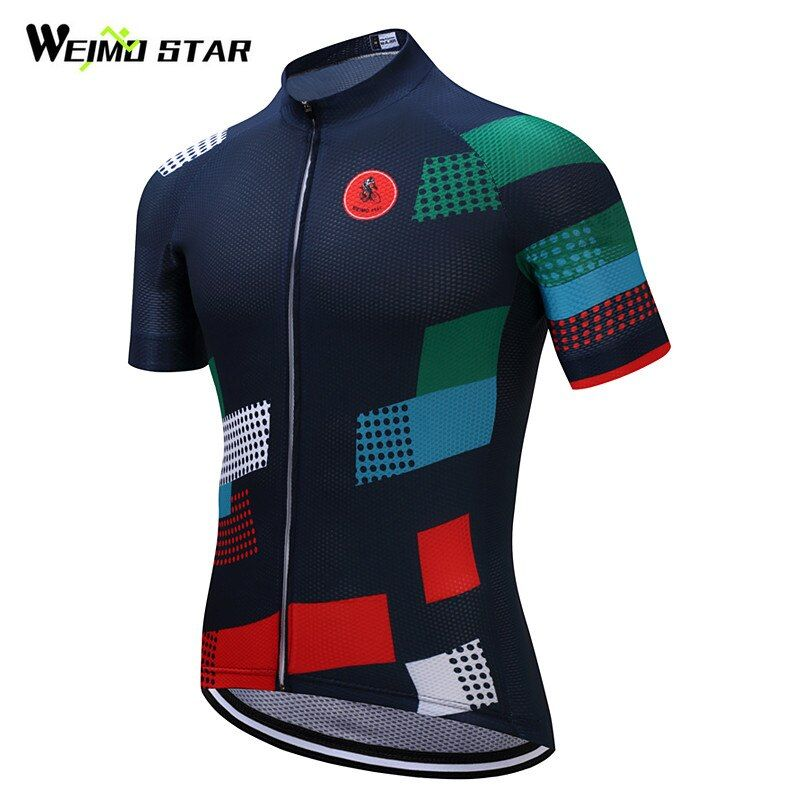 Weimostar Brand Cycling <font><b>Jersey</b></font> 2018 Pro Team Bike <font><b>Jersey</b></font> Shirt mtb Bicycle Cycling Clothing Roupa Ropa Maillot Ciclismo Hombre