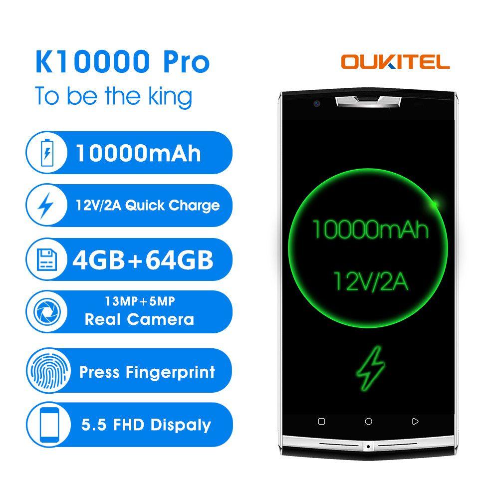 Oukitel K10000 Pro 5,5
