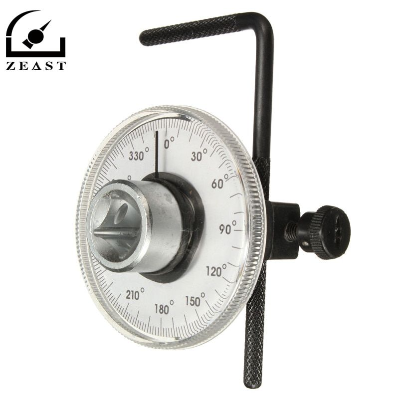 Professional 1/2 inch Drive Torque Angle Gauge Car Auto Garage Tool Set Adjustable New Arrival High Quality