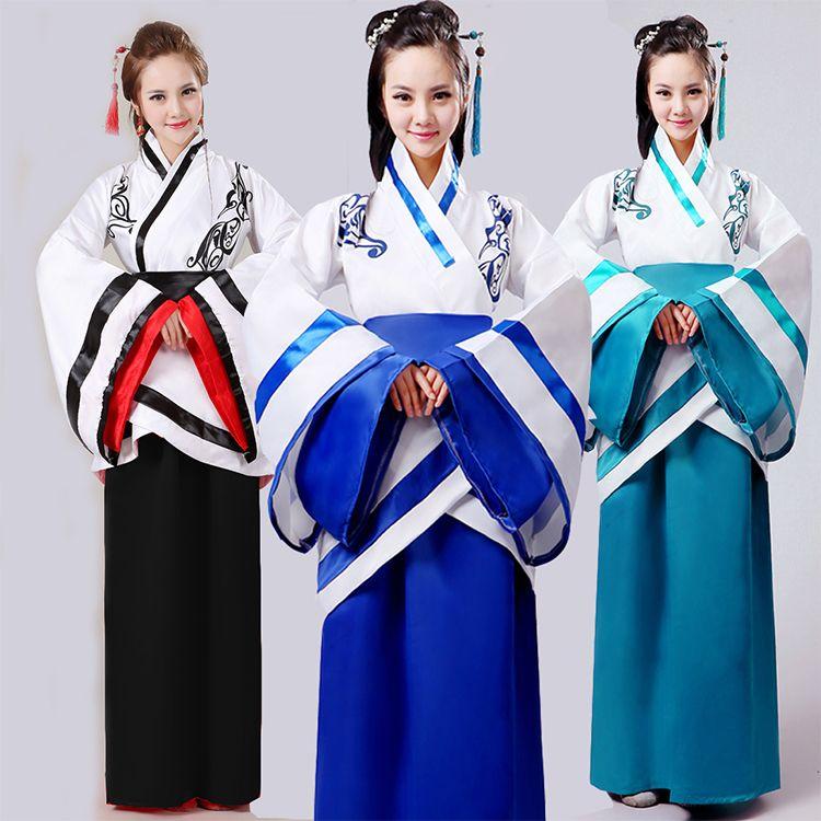 Traje Chino Antiguo Hanfu Nacional Cosplay Chino Hanfu Ropa de Danza Folclórica china Chino Dama Vestido de la Etapa