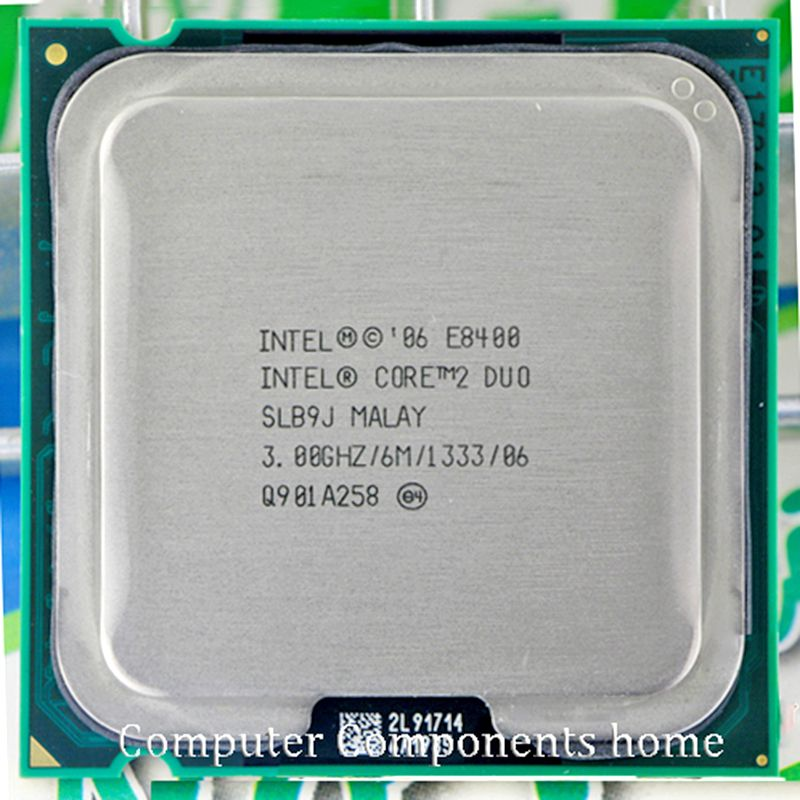 Original INTEL  Core 2 Duo E8400 CPU  core 2 duo processor e8400 (3.0Ghz/ 6M /1333GHz) Socket 775