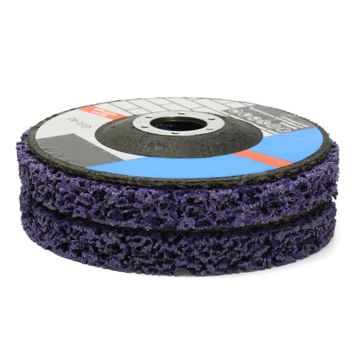 2pcs 125mm Poly Strip Disc Abrasive Wheel Paint Rust Removal Clean Mayitr For <font><b>Angle</b></font> Grinder