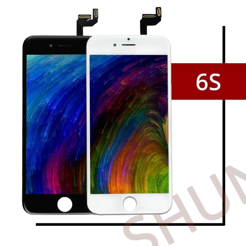 10PCS Top Quality For Tianma Ecran For iPhone 6S LCD Screen With Good 3D Touch Cold Press Display Replacement Assembly Free DHL