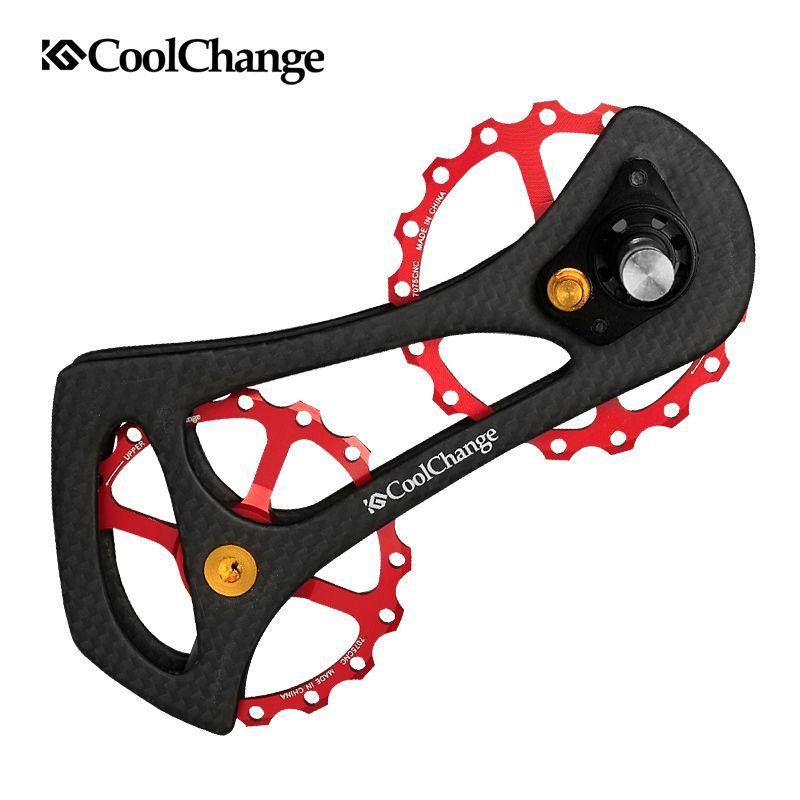 Coolchange Antrieb 17 T Bike Carbon Ceramic Lager Räder Rennrad Schaltwerk Riemenscheiben Für 4700/5800/6800/9070