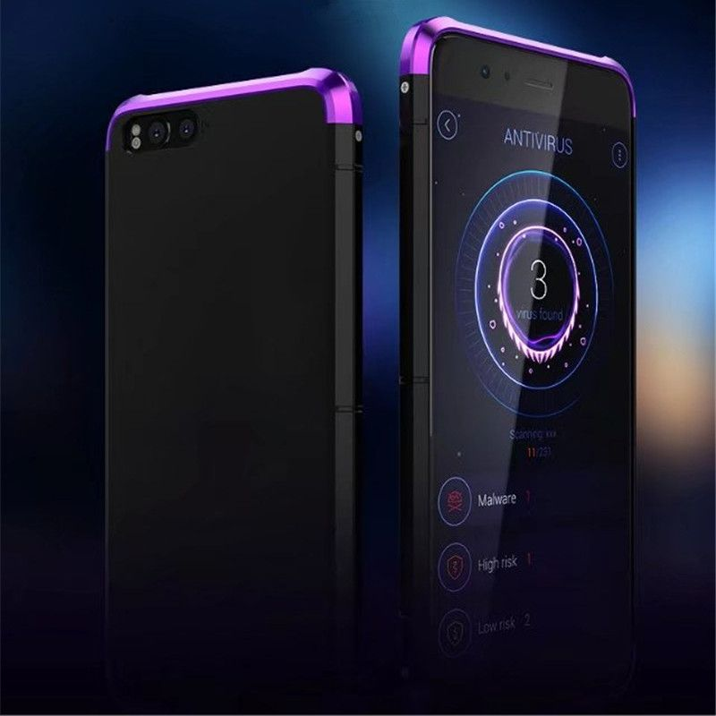 Luxury Original Brand BOBYT Aluminum Metal Frame + PC Hard Armor Anti-knock Back Cover Cases For Xiaomi Mi Note 3 Case