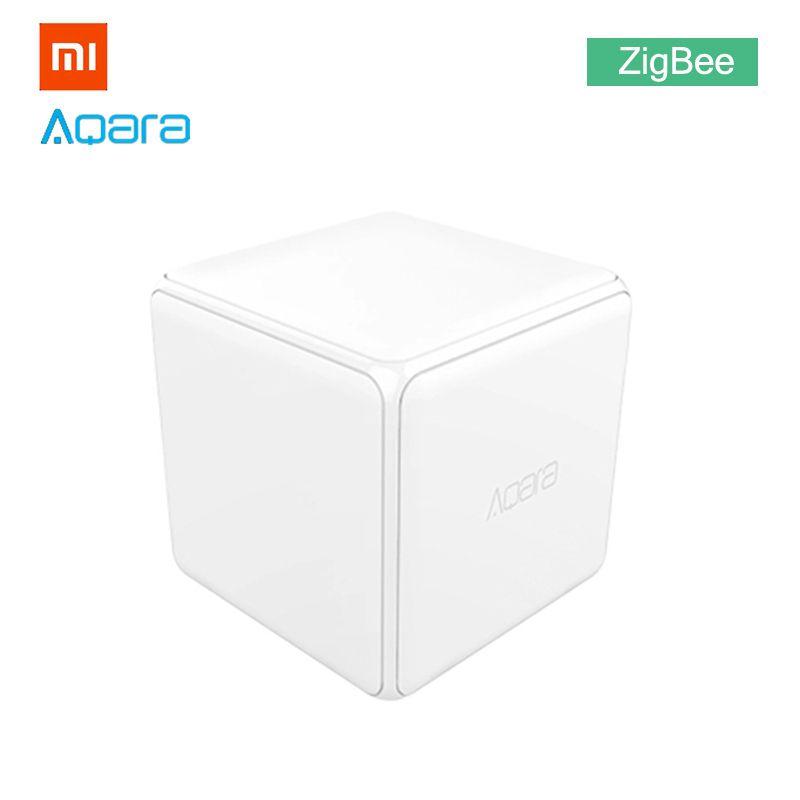 Xiaomi Aqara Mi Magic Cube Controller Zigbee Version for Upgrade Gateway Smart Home Mijia Device Wireless MiHome APP Control
