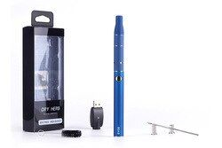 Dry herb vaporizer Electronic cigarette evod 650mah battery mini ago kit dry wax vaporizer pen g5 atomizer start kit