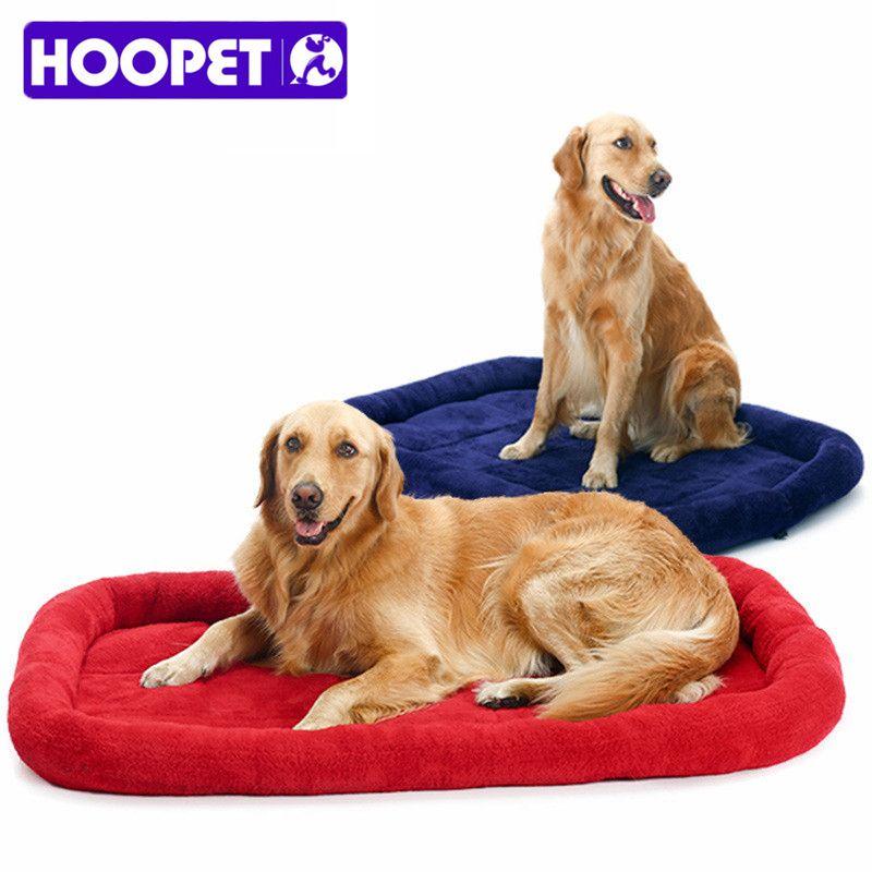 Super grands lits de chien pour grands chiens Super chaud chien chat tapis de couchage énorme matelas coussin automne hiver Pet House livraison gratuite