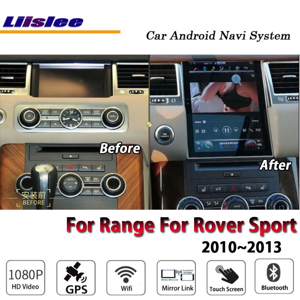 Liislee Auto Android Für Palette Für Rover Sport 2010 ~ 2013 Original stil Radio Carplay GPS Navi Karte Navigation System multimedia