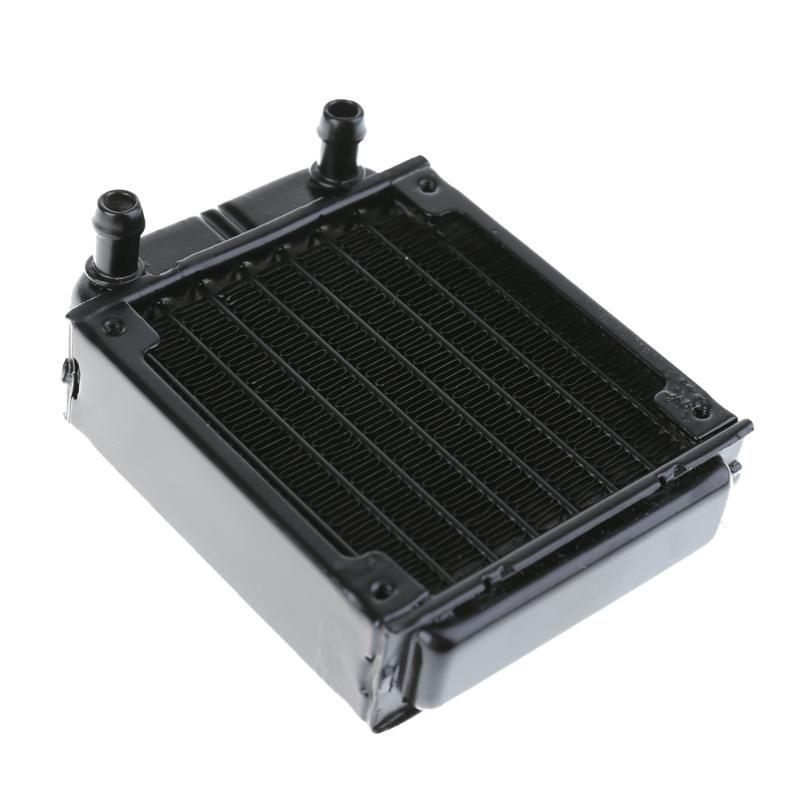 Aluminium Computer Kühler Wasserkühlung Kühler Wasserkühler Rohre Wärmetauscher CPU Kühlkörper Für Laptop Desktop